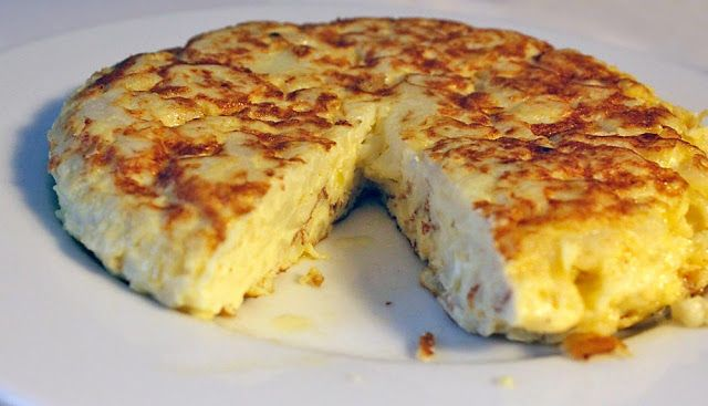 Tortilla Española LCHF ---Recipe in Swedish - give me a shout if you need translation :0)