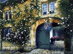 Charles White Cobblestone Courtyard