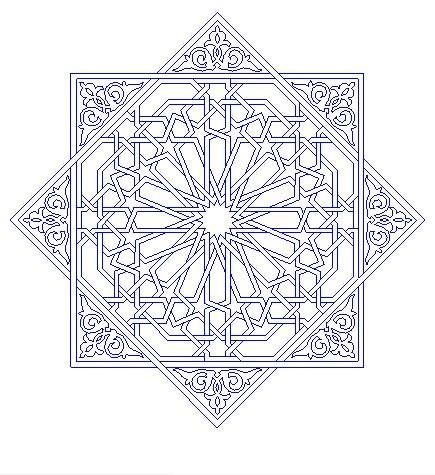 TEZHIP Arabic PatternArabesque PatternIslamic