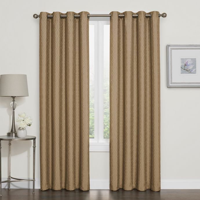 Darcy 100 Blackout Grommet Top Window Curtain Panel Cheap