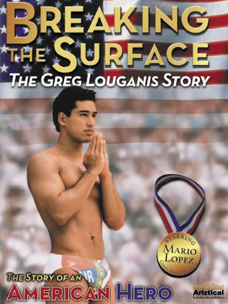 Breaking the Surface is about the tough times Greg Louganis had on his way to becoming one of the world's top Olympic divers. Some topics discussed were Greg's childhood problems, his homosexuality, and him contracting the HIV virus.