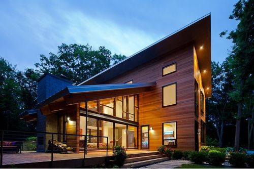 Pigeon Creek Residence – Michigan by Lucid Architecture
