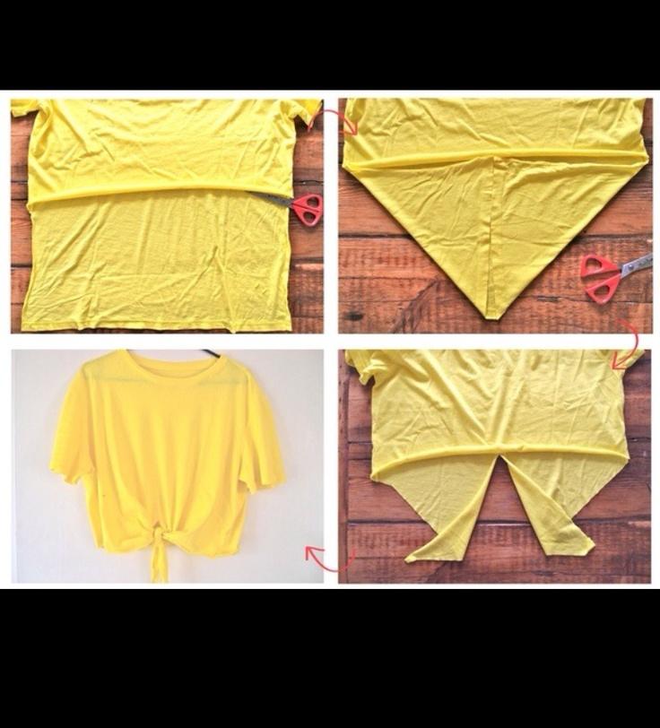 DIY t shirt gotta know how to do this