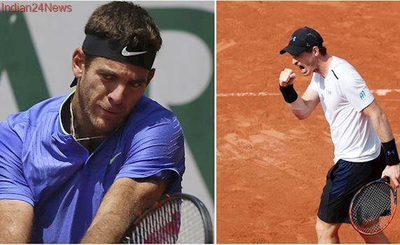 French Open Live Score, Day 7: Andy Murray takes on Juan Martin Del Potro, Marin Cilic faces Feliciano Lopez