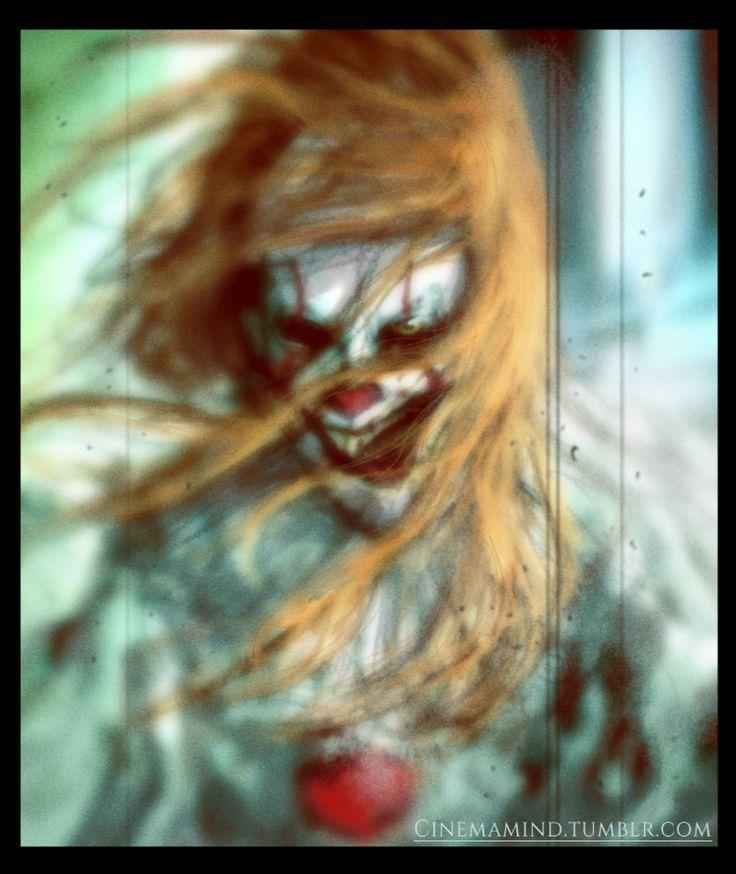 Pennywise the Dancing Clown sketches, David Romero on ArtStation at https://www.artstation.com/artwork/Lv58P