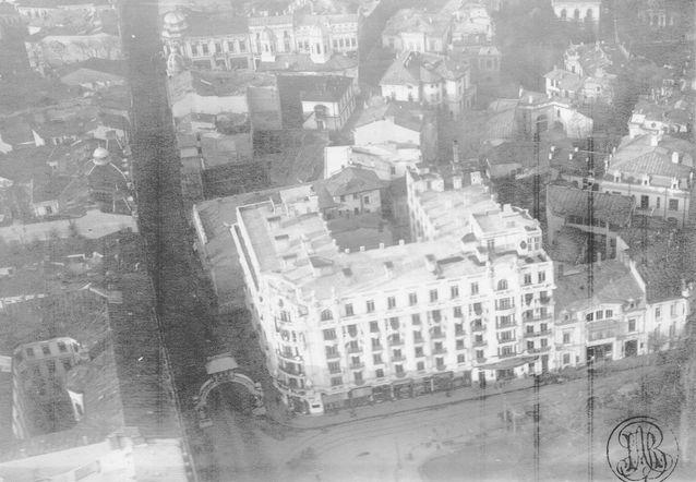 Athénée Palace în decembrie 1918