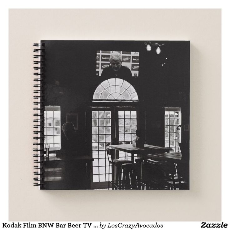 Kodak Film BNW Bar Beer TV Windows Notepad Notebook