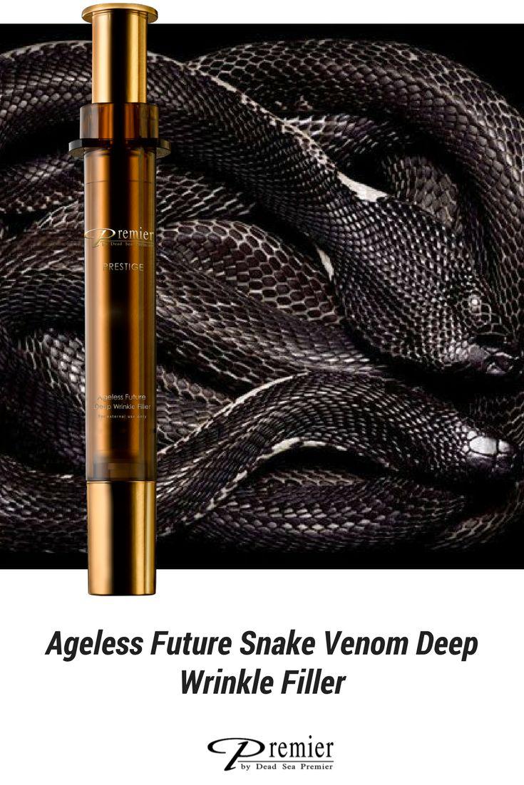 Arrugas, rellenador para arrugas. Ageless Future Snake Venom Deep Wrinkle Filler.  RECUERDA: NO utilizamos ningún ingrediente de origen animal 🐍. @PremierESP #arrugas #antiedad #antiaging