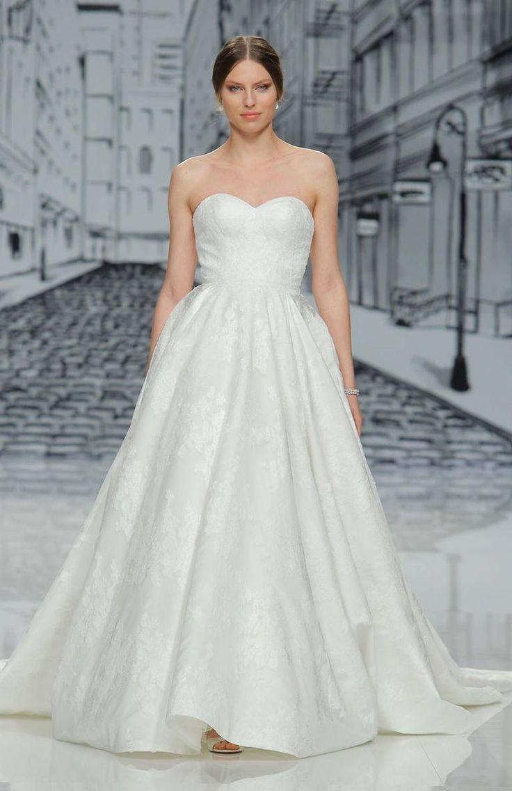13 best Brautkleider für Frauen mit grosser Oberweite images on ...
