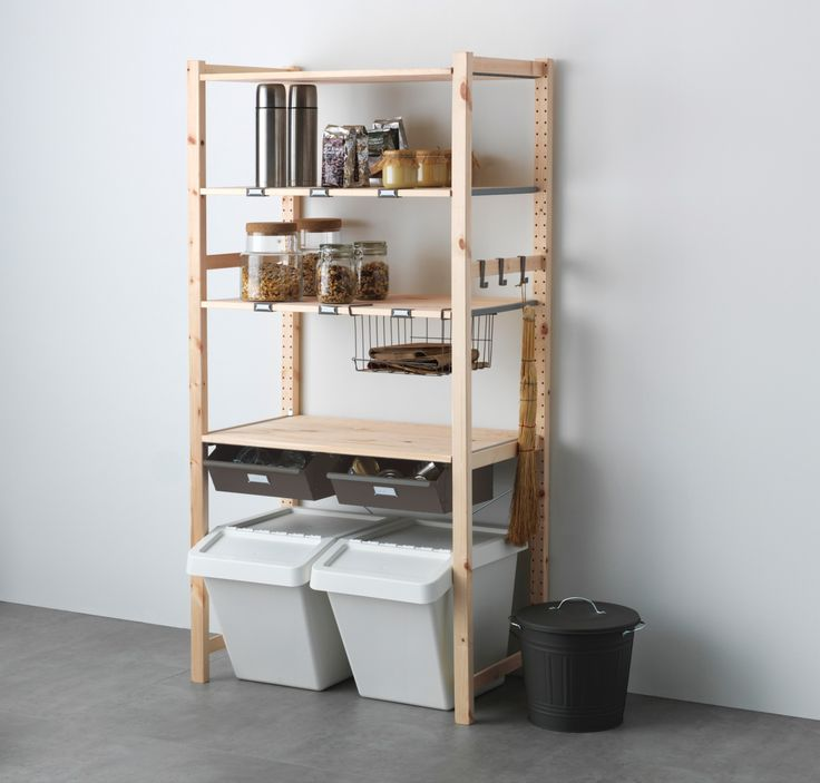 Open storage for food is so on trend right now.