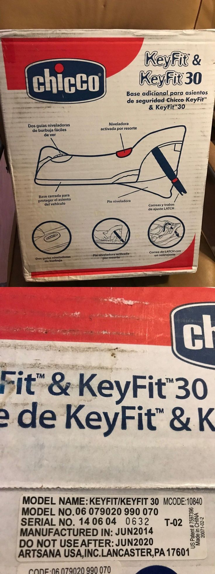 Car Seat Accessories 66693: Chicco Keyfit Car Seat Base New In Box (For Keyfit And Keyfit 30 Infant Car Seat) -> BUY IT NOW ONLY: $69.99 on eBay!