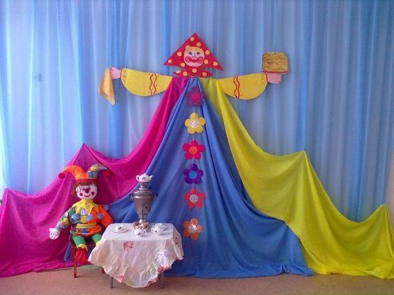 Варианты оформления музыкального зала в детском саду. «Весна красна»…