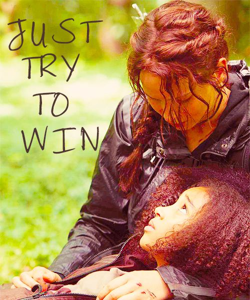 Rue was the spark that started the fire in the girl, Katniss everdeen!
