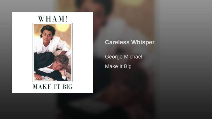 Careless Whisper The legendary sax!!