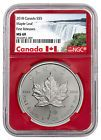 ♡♤ 2018 Canada 1 oz Silver Maple Leaf $5 Coin NGC MS69 FR Red PRESALE SKU... http://ebay.to/2B8qirz