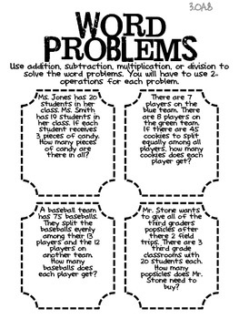 10 best Teach Two Step Word Problems images on Pinterest