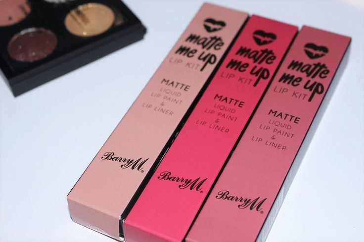 Barry M Matte Me Up Lip Kit Review & Swatches