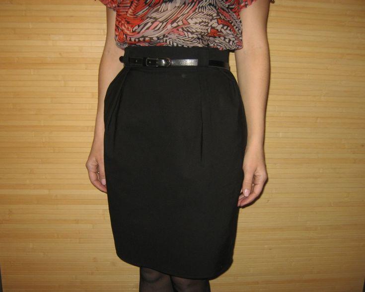 Мастер-класс: легкая юбка в деловом стиле   Шкатулка