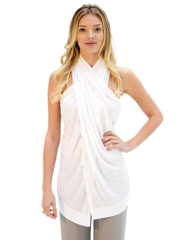 JOURNEY shawl radiant white