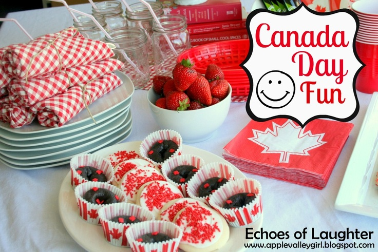 Echoes of Laughter: Canada Day Party Ideas