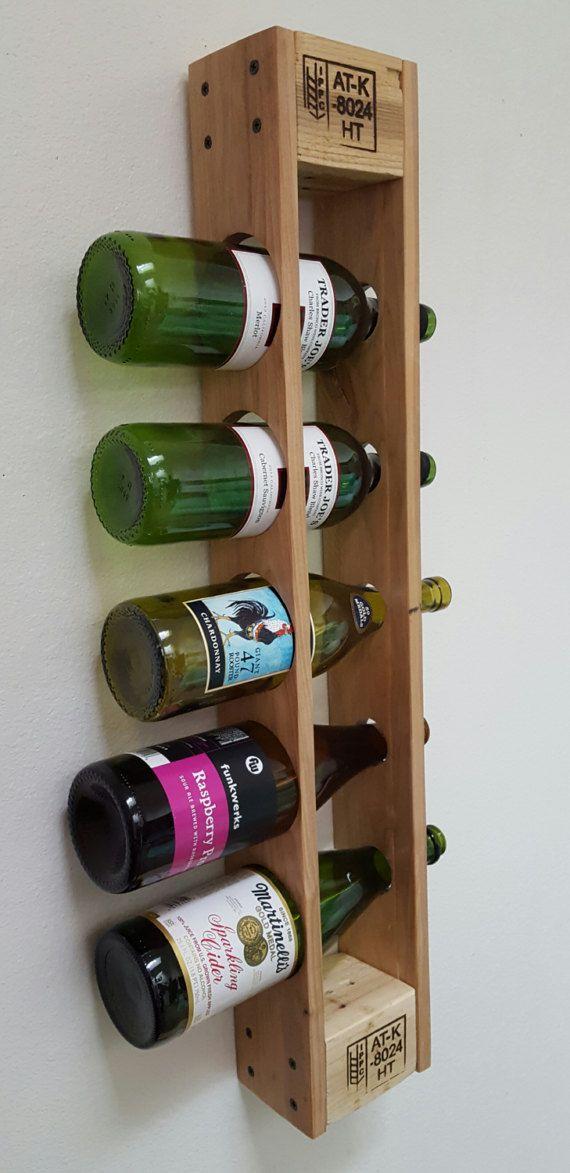 les 25 meilleures id es de la cat gorie casiers bouteilles palette sur pinterest tag res. Black Bedroom Furniture Sets. Home Design Ideas