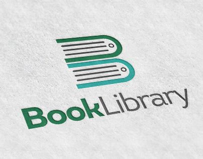 "Check out new work on my @Behance portfolio: ""Book Library Logo""…"