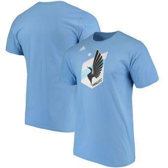 Minnesota United FC adidas Logo Set T-Shirt - Light Blue