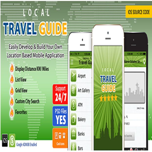 Create your own custom #travel #guide that works anywhere around the world!