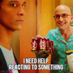 gif. One of my favorite Community moments (and something I'm tempted to say a lot).