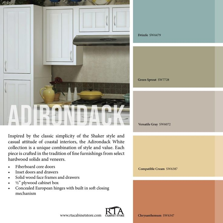 Color Palette To Go With Our Oak Kitchen Cabinet Line: 269 Best Images About HOME: Paint