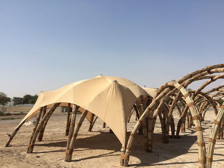 Fabrics pavilion?! sandra piesik 3 ideas ltd food shelter al ain unesco world heritage site designboom