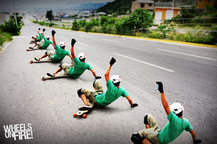 Longboarding Sliding, soo much fun. wish I were better at it.