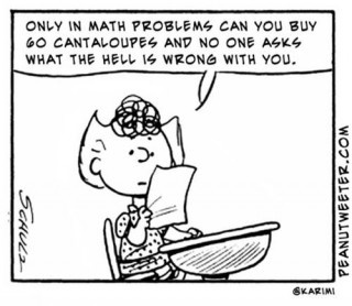 It is amazing how you may have taken through college algebra but still cannot help with elementary math these days.  And it's the parent's fault?