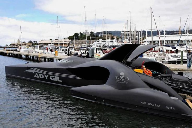 Adasta 42m luxury trimaran james bond can kiss my a Shepherds motors