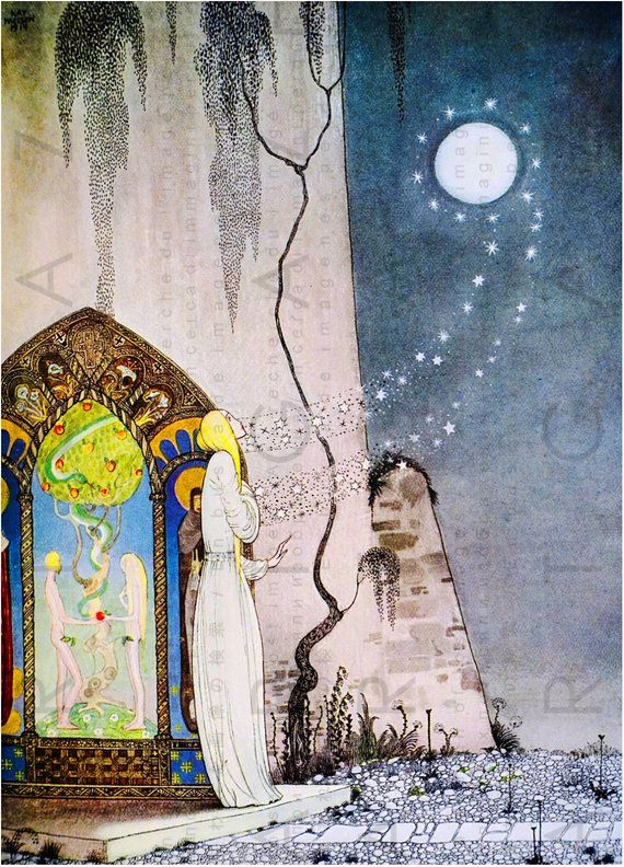East Of The Sun West Of The Moon Kay Nielsen Vintage Illustration