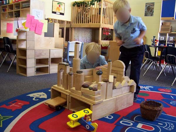 how to build a castle with blocks