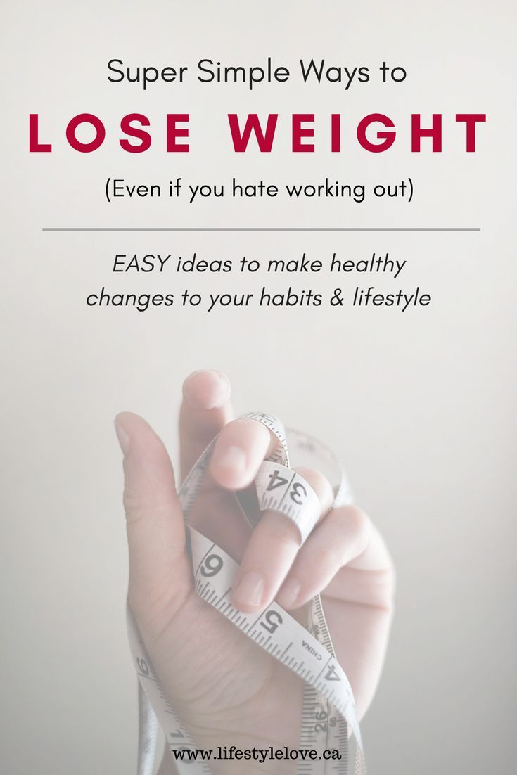 Simple changes, big results. Hate working out? 10 Simple, easy tips to lose weight, get healthy, and reach your fitness goals. Easy food substitution ideas, ways to sneak in exercise, make healthier choices. www.lifestylelove.ca #lazygirl #fitness #healthy #weightloss #workout #aff