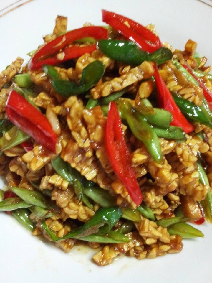 Oseng Tempe With Buncis By Lily Maskoer Langsungenak Com Resep Memasak Resep Resep Makanan