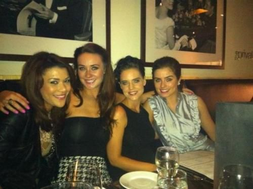 Jodie Jacqui Cindy and Mitzeee #Hollyoaks