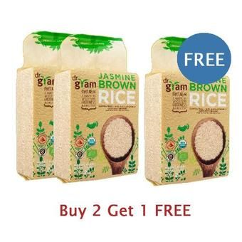 Buy Jasmine Brown Rice 2kg - Buy 2 Get 1 Free online at Lazada. Discount prices and promotional sale on all. Free Shipping.