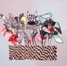 """""""Jeg er overrasket over, at jeg maler blomster"""" - KUNSTEN.NU Anne Sofie Meldgaard - Oase soloudstilling, Randers Kunstmuseum, Denmark"""