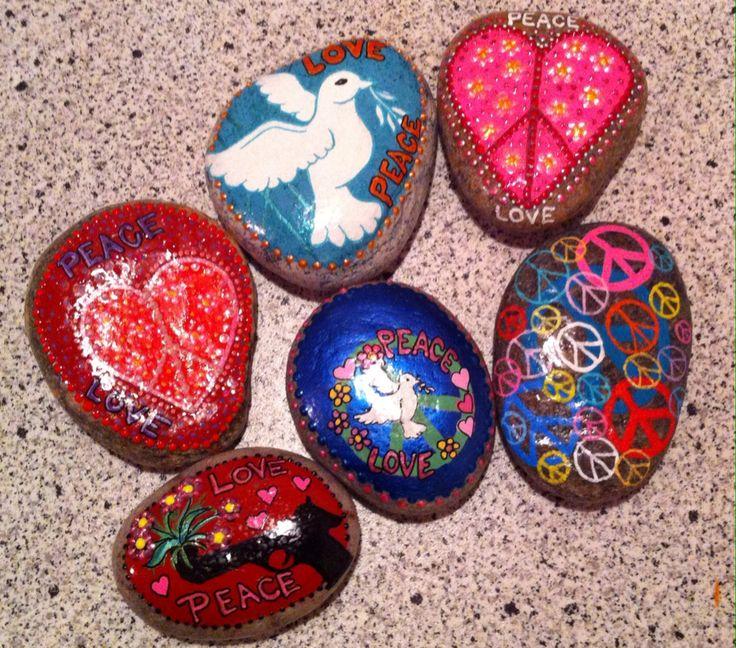 Fred og kærlighed sten