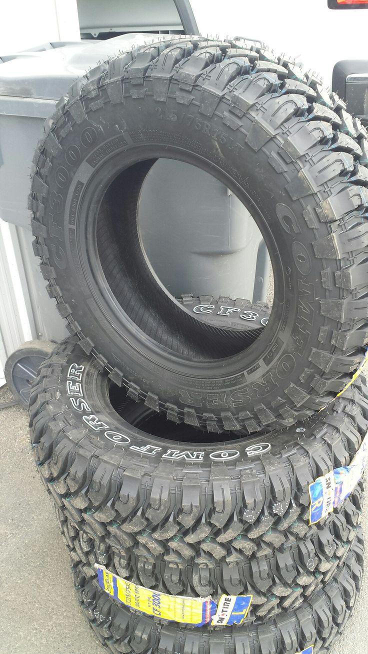 My new tires