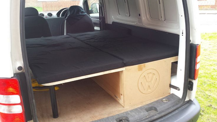 VW Caddy Mini Camper Project, Part 2 - Ride Home