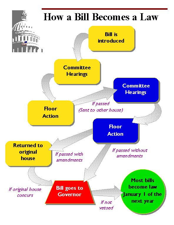 How Does a Bill Become a Law : How a Bill Becomes a Law ...