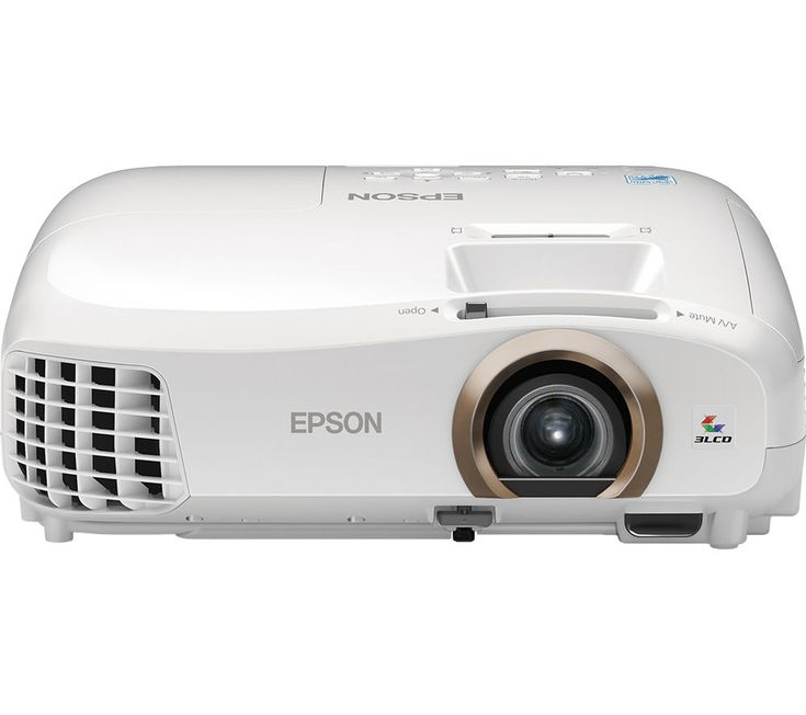 """EPSON EH-TW5350 3D Home Cinema Projector Price: £ 599.99 Enjoy the ultimate big screen experience at home with the Epson EH-TW5350 3D Home Cinema Projector . Tri LCD technology The high-quality EH-TW5350 with 3LD technology lets you enjoy movies and sports event on the big screen. Catering to a maximum screen size of 332"""", you can fill the room with an impressive Full HD display. Watch..."""