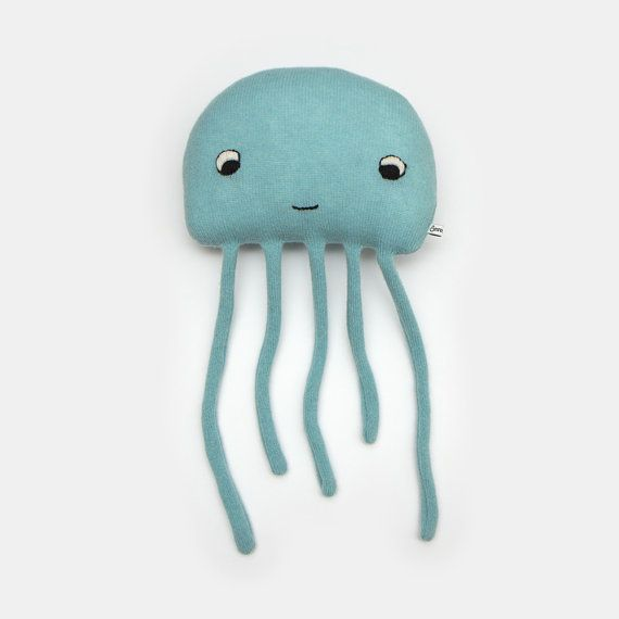Harold the Jellyfish Lambswool Plush Toy - Made to order