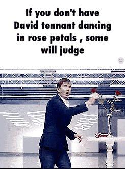 David Tennant + Roses + Dancing = :)