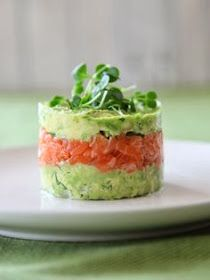 Alternative Appetizers: Avocado Salmon / Tuna Tartare | NATURE WHISPER