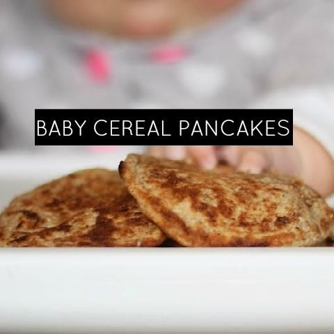 Easy Baby Cereal Pancakes | momstown Central Alberta